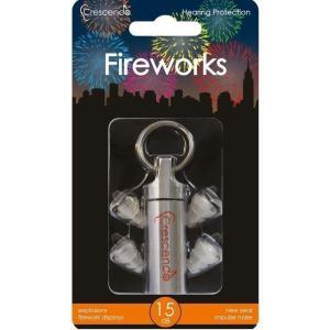 Crescendo Fireworks 花火観賞用 イヤープロテクター 耳栓/メール便発送・代金引換不可|aion