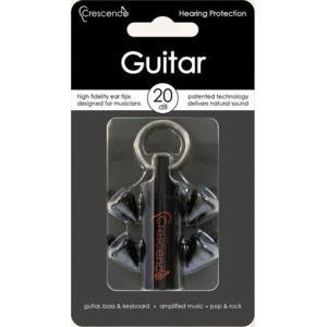 Crescendo Guitar 約20dB 楽器用 イヤープロテクター/メール便発送・代金引換不可|aion