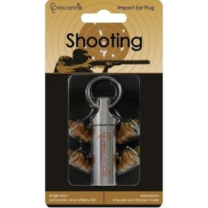 Crescendo Shooting 猟銃・火器用 イヤープロテクター 耳栓/メール便発送・代金引換不可|aion