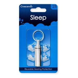 Crescendo SLEEP 25dB 安眠用 イヤープロテクター/メール便発送・代金引換不可|aion