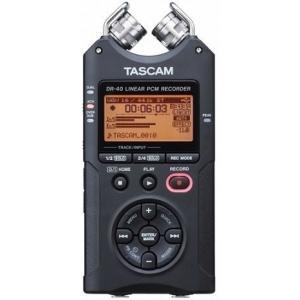 TASCAM DR-40 VER2-J 日本語メニュー表示 リニアPCMレコーダー 選んで使えるプロの音質|aion