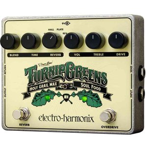 ELECTRO HARMONIX Turnip Greens マルチエフェクトペダル オーバードライ...