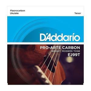 【ウクレレ弦×5セット】D'Addario EJ99T×5 テナーウクレレ用/メール便発送・代金引換不可ダダリオ aion