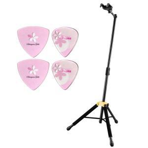 【さくら山楽器ピック4枚付】HERCULES GS415B 高品質ギタースタンド/送料無料 aion