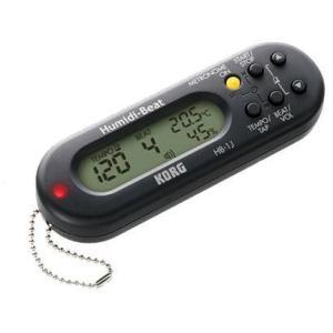 KORG HB-1J-BK 温度・湿度計付きのポータブル・メトロノーム Humidi-Beat/メール便発送・全国送料無料・代金引換不可|aion