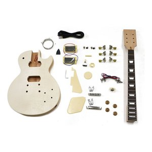 【ポイント6倍】HOSCO ER-KIT-LP エレキギター/レスポールタイプ 組み立てキット ★難易度:中/送料無料|aion
