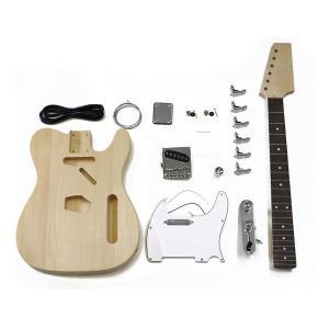 HOSCO ER-KIT-TC エレキギター/テレキャスタイプ 組み立てキット ★難易度:中/送料無料|aion
