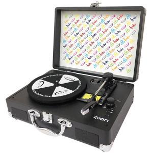 【限定モデル】hide Vinyl Motion Portable Suitcase Turntable レコード・プレーヤー UPZZ-1778 [ION AUDIO x hide]|aion