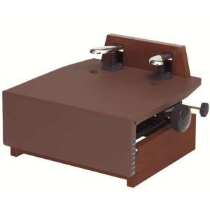 甲南 KP-DX ウォルナット(ブラウン) ピアノ補助ペダル/送料無料