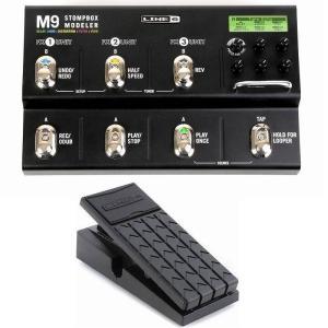 LINE6 M9 Stompbox Modeler+EX-1 パワフル、ポータブル