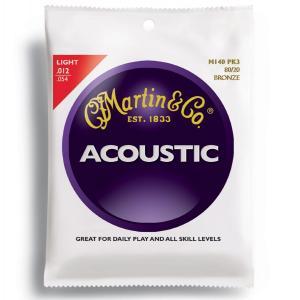 【弦×3セット(3セットパック×1)】Martin M140PK3×1 [12-54] 80/20 Bronze LIGHT アコースティックギター弦/メール便発送・代金引換不可|aion