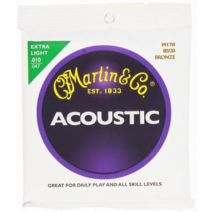 Martin M170×6セット アコースティックギター弦/メール便発送・代金引換不可 aion