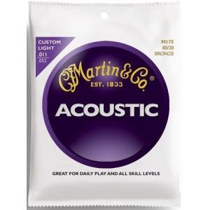 Martin M175×6セット アコースティックギター弦/メール便発送・代金引換不可 aion