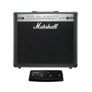 【ポイント7倍】【限定Marshallピック2枚付】Marshall MG101CFX+PEDL90008/4Wayフットスイッチ ギターアンプ/送料無料