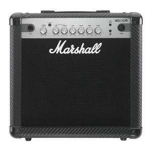 【ポイント6倍】【限定Marshallピック2枚付】Marshall MG15CFR MG CF(カーボン・ファイバー)シリーズ/送料無料|aion