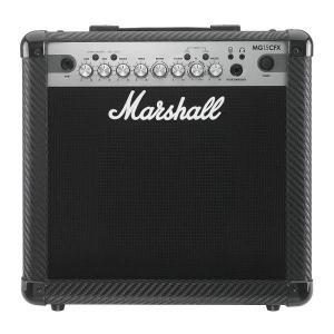 【ポイント14倍】【限定Marshallピック2枚付】Marshall MG15CFX MG CF(カーボン・ファイバー)シリーズ/送料無料