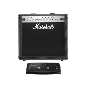 【限定Marshallピック2枚付】Marshall MG50CFX+PEDL90008(フットスイッチ) MG CF(カーボン・ファイバー)シリーズ/送料無料