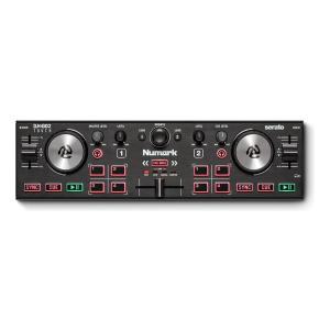 Numark DJ2GO2 Touch タッチ・キャパシティブ・ジョグホイール搭載ポータブル・DJコントローラー