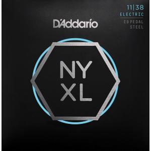 【ペダル・スチール弦×1セット】D'Addario NYXL1138PS×1セット ペダル・スチール弦 次世代の弦/メール便発送・代金引換不可 aion