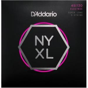 【ベース弦×1】D'addario NYXL45130SL×1 Regular Light 5-St...