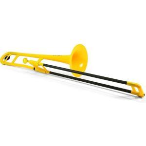 pinstruments PBONE1Y pBone/Yellow プラスチック製 B♭テナートロンボーン|aion