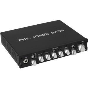 【ポイント6倍】PHIL JONES BASS(PJB) D-400 ベースアンプヘッド/送料無料|aion