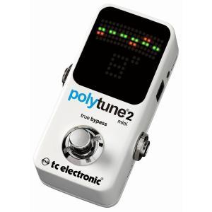 【ポイント9倍】tc エレクトロニック t.c.electronic PolyTune 2 Mini 同時/多弦チューナー/送料無料