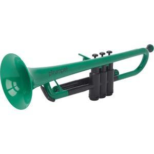 pinstruments PTRUMPET1G pTrumpet/Green プラスチック製 B♭トランペット|aion