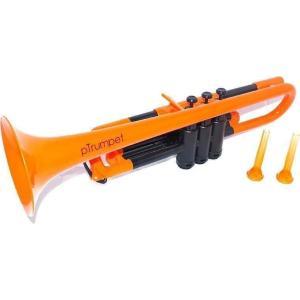 pinstruments PTRUMPET1OR pTrumpet/Orange プラスチック製 B♭トランペット|aion