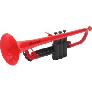 pinstruments PTRUMPET1R pTrumpet/Red プラスチック製 B♭トランペット|aion