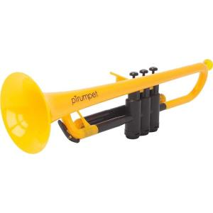 pinstruments PTRUMPET1Y pTrumpet/Yellow プラスチック製 B♭トランペット|aion