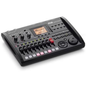 【ポイント9倍】ZOOM R8 2tr同時録音/8tr同時再生/B5サイズ・コンパクト・マルチトラック・レコーダー/送料無料|aion