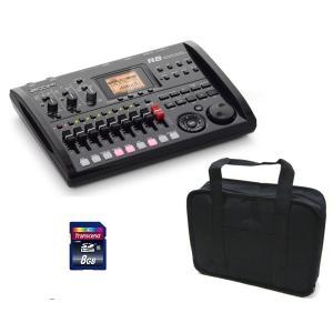 ZOOM R8(汎用ソフトケース+SDHC/8GB付) 2tr同時録音/8tr同時再生/B5サイズ・コンパクト・マルチトラック・レコーダー/送料無料