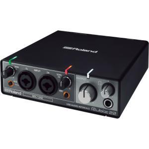 Roland Rubix22 USBオーディオ・インターフェース 2in/2out 24bit/19...