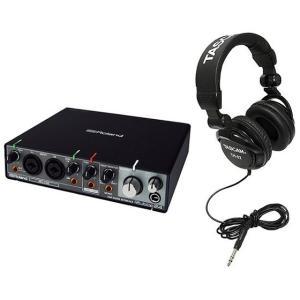 Roland Rubix24 + TASCAM TH-02 (ヘッドホン) USBオーディオインター...