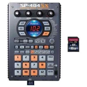 Roland SP-404SX(SDHCカード/16GB付) コンパクト・サンプラーの新たなる世界標準|aion