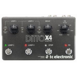 【ポイント10倍】tc electronic/t.c.electronic Ditto X4 Looper ルーパー/正規輸入品/送料無料
