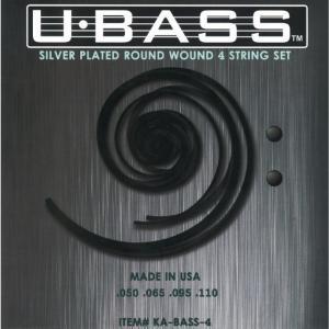 【ウクレレベース弦×1セット】KALA KA-BASS4 U-BASS用 ラウンドワウンド ガット弦 ウクレレベース 弦/メール便発送・代金引換不可|aion