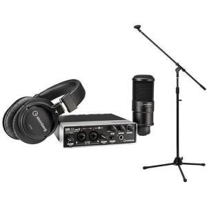 steinberg UR22mkII Recording Pack(ブームマイクスタンド付) インターフェース+マイク+ヘッドフォン+ソフト=オールインワンセット/送料無料|aion