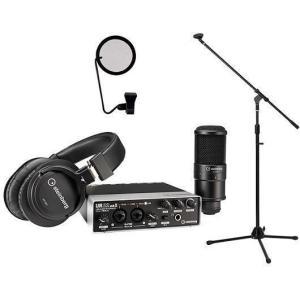 steinberg UR22mkII Recording Pack(ブームマイクスタンド+ポップブロッカー付) インターフェース+マイク+ヘッドフォン+ソフト=オールインワンセット/送料無料|aion