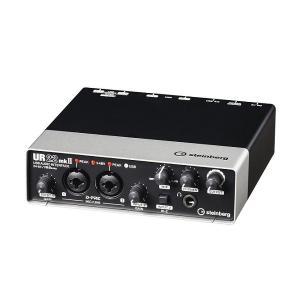【ポイント6倍】steinberg UR22mkII UR22mk2 2 X 2 USB 2.0 オーディオインターフェース/送料無料|aion