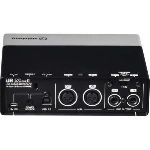 【ポイント6倍】steinberg UR22mkII UR22mk2 2 X 2 USB 2.0 オーディオインターフェース/送料無料|aion|02