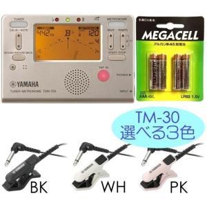 YAMAHA TDM-700G + TM-30 + 単4電池4本付 チューナーメトロノーム/メール便発送・代金引換不可|aion
