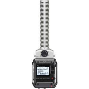 ZOOM F1-SP 軽量コンパクトなフィールドレコーダー+超指向性ショットガンマイク|aion