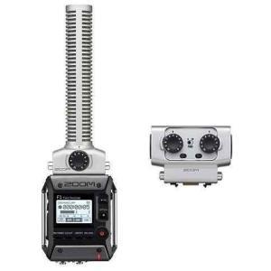 ZOOM F1-SP(XLR/TRSコンボカプセル/EXH-6付) 軽量コンパクトなフィールドレコーダー+超指向性ショットガンマイク|aion