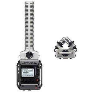 ZOOM F1-SP(追加マイク/XYH-5付) 軽量コンパクトなフィールドレコーダー+超指向性ショットガンマイク|aion