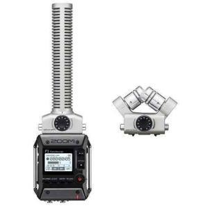 ZOOM F1-SP(追加マイク/XYH-6付) 軽量コンパクトなフィールドレコーダー+超指向性ショットガンマイク|aion