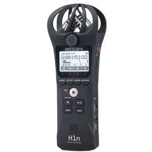 ZOOM H1n コンパクトボディ XYステレオマイク搭載ハンディレコーダー|aion