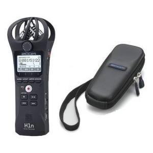 ZOOM H1n(専用ソフトケース付) コンパクトボディ XYステレオマイク搭載ハンディレコーダー
