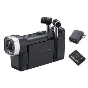 ZOOM Q4n+BT-02+AD-17A(追加バッテリー+ACアダプター) 音にこだわるビデオレコーダー|aion